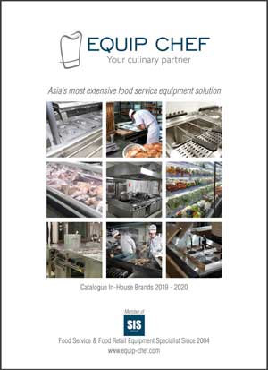 Equip Chef Catalogue Cover Page